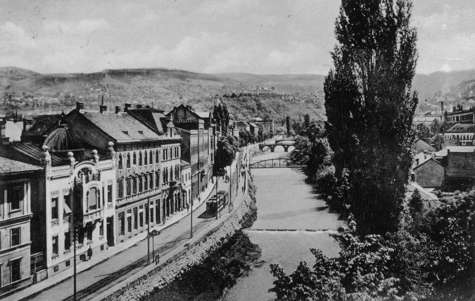 1914 Miljacka Sarajevo