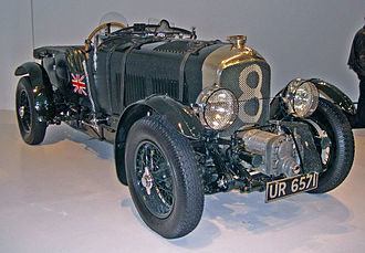"Bentley Boys - 1929 ""Blower"" Bentley from the Ralph Lauren collection."