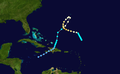 1934 Atlantic hurricane 13 track.png