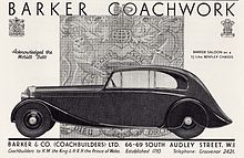 1935 Bentley 3.5 Litre Barker Saloon (13883995027).jpg