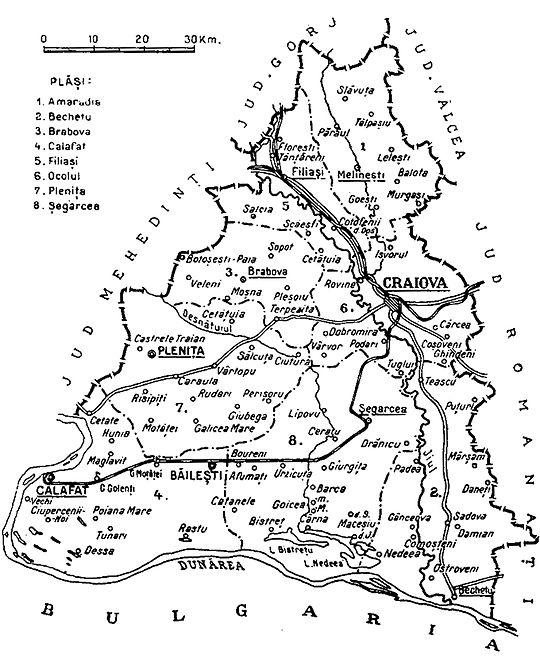 Județul Dolj Interbelic Wikiwand
