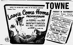 1944 - Towne Theater Ad - 14 Jan MC - Allentown PA.jpg