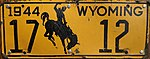 1944 Wyoming License Plate 17 12.jpg