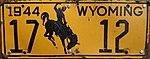 1944 Wyoming License Plate 17 12.jpg