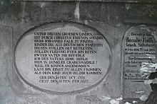 Grabplatte (Quelle: Wikimedia)
