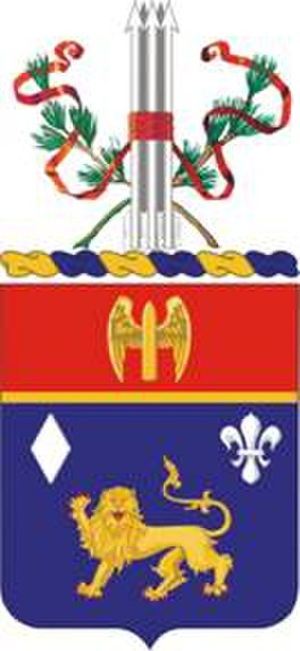 197th Field Artillery Regiment - Coat of arms