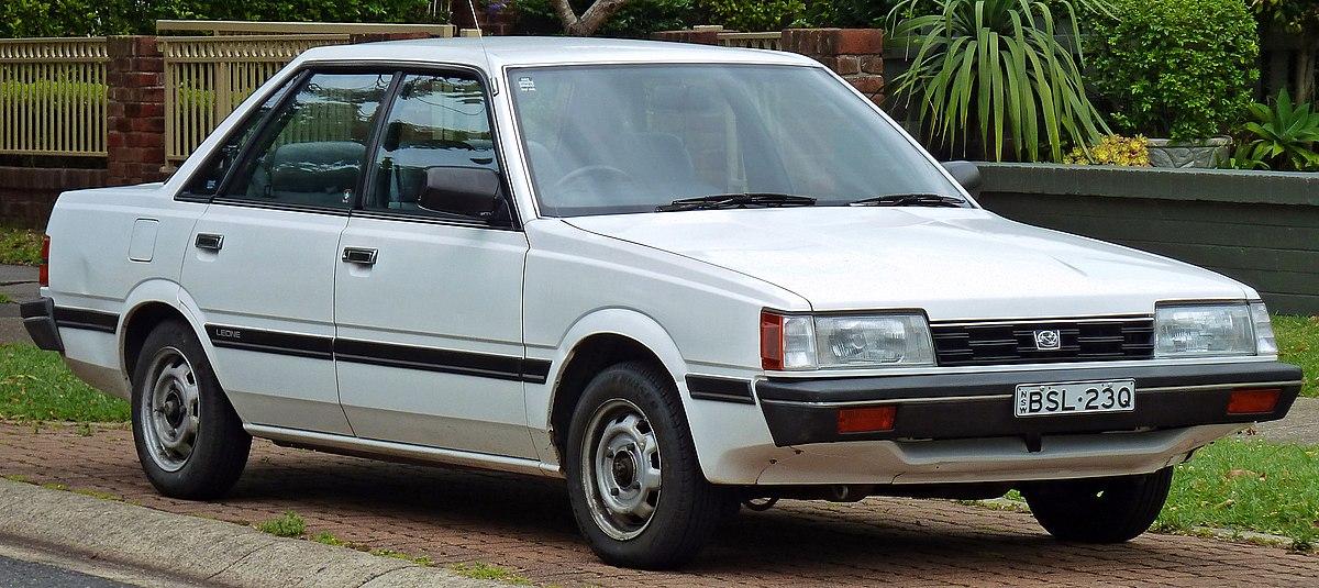 Subaru Boxer Engine >> Subaru Leone - Wikipedia