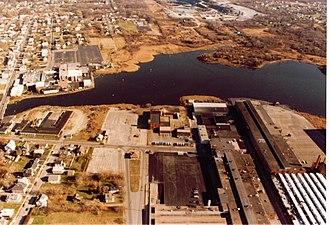 Timeline of New Bedford, Massachusetts - Image: 1984 New Bedford Harbor Massachusetts 4384223541