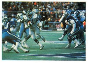 History of the Dallas Cowboys - The Cowboys playing the Eagles in the 1980 NFC Championship Game.