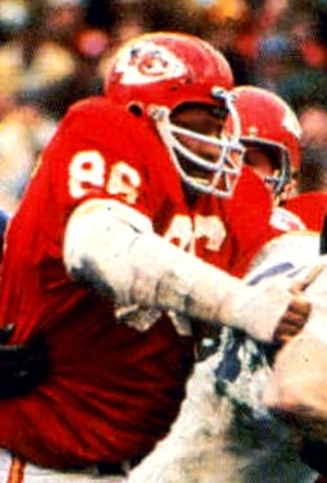Buck Buchanan - Buchanan playing with the Chiefs in Super Bowl IV