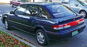 Honda Concerto - Image: 1991 Honda Concerto (MA2) EX i hatchback (2015 05 28) 02