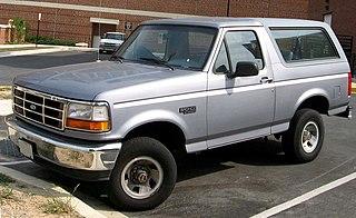 Ford Bronco American car model