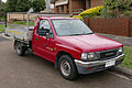 1995 Holden Rodeo (TF G6) LX 2.6 2WD 2-door cab chassis (2015-08-07).jpg