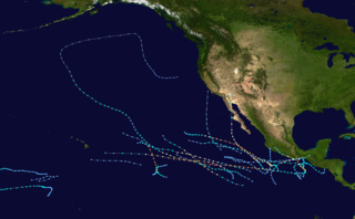 1997 Pacific hurricane season hurricane season in the Pacific Ocean