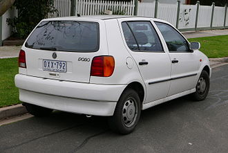 Volkswagen Polo - 1997 Volkswagen Polo 5-door hatchback (Australia; pre-facelift) rear