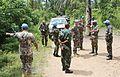 19 mai 2015, Territoire de Beni, Province du Nord-Kivu, RD Congo- Le Commandant adjoint de la Force de la MONUSCO, le major-général Jean Baillaud, effectue une visite sur les sites de massacres à Oicha et Mbau (18338447535).jpg