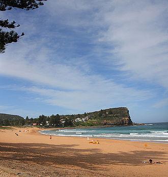 Avalon Beach, New South Wales - Avalon Beach, looking north