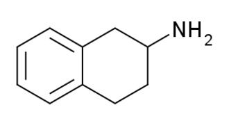 2-Aminotetralin - Image: 2 Aminotetralin