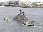 20030727 27 July 2003 DDG-168 Tachikaze Guided Missile Destroyer DDG Tachikaze Class 3 Odaiba Tokyo Japan.jpg