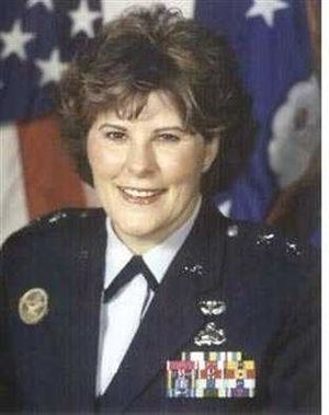 Susan Pamerleau - Image: 2003 USAF photograph of Maj. Gen. Susan Pamerleau