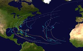 2004 Atlantic hurricane season hurricane season in the Atlantic Ocean
