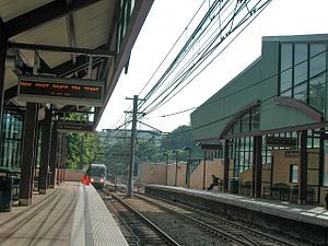 South Hills Junction (PAT station) - Image: 20050606 16 South Hills Jct (10908705956)