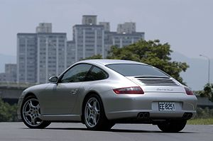 Porsche 997 - Porsche 997 Carrera S (rear view)