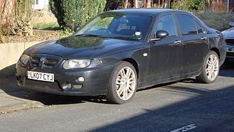 MG ZT - Facelift MG ZT CDTI 135 (UK)
