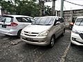 2007 Toyota Kijang Innova 2.5 G (front), West Surabaya.jpg