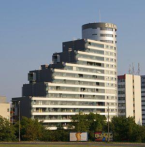 Bronowice (Kraków) - Image: 20080827 Krakow Salwator Tower 4294