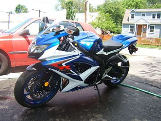 About Motorcycle  Suzuki Gsxr 750