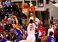 20091112 Evan Turner dunks.jpg