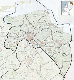 Wedderborg is located in Groningen (province)