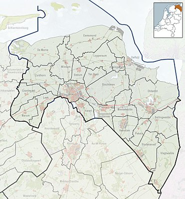 Module:Location map/data/Netherlands Groningen - Wikipedia