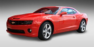 Chevrolet Camaro (fifth generation) - Image: 2010Chevrolet Camaro 05 1