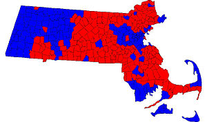 Massachusetts gubernatorial election, 2010 - Image: 2010 MA Governor