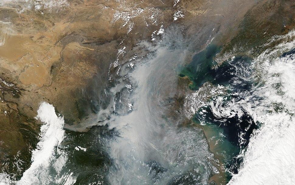2010 Smog over China