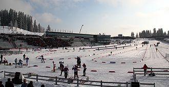 FIS Nordic World Ski Championships 2011 - The ski stadium