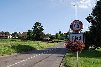 Ried bei Kerzers - Image: 2012 07 18 Regiono Arbergo (Foto Dietrich Michael Weidmann) 288
