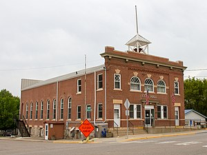 Kimball, Minnesota - Kimball Prairie Village Hall is listed on the National Register of Historic Places.