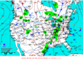 2013-01-13 Surface Weather Map NOAA.png