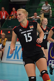 Lisa Thomsen German volleyball player