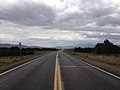 2014-08-11 14 36 43 View east along U.S. Route 50 about 52.5 miles east of the Eureka County line in White Pine County, Nevada.JPG