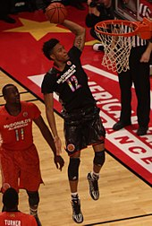 379d78214 Oubre during the 2014 McDonald s All-American Boys Game