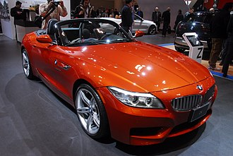 BMW Z4 (E89) - BMW E89 Z4 (post facelift model finished in Valencia Orange)