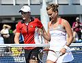 2014 US Open (Tennis) - Tournament - Barbora Zahlavova Strycova and Ashleigh Barty (15093109151).jpg