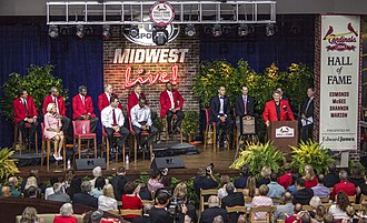 St. Louis Cardinals Hall of Fame Museum - The Inaugural HOF Induction, 2014.