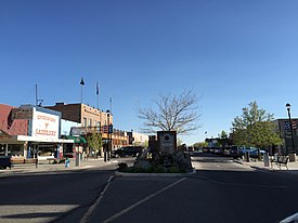 2015-04-02 17 24 37 View south along Maine Street in downtown Fallon, Nevada.JPG