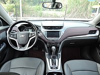 2015 Chevrolet Malibu (Chinese facelift) interior.jpg