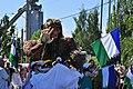 2015 Fremont Solstice parade - Sasquatch and Cascadia 02 (19128380508).jpg